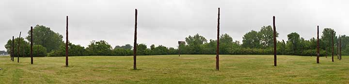 Cahokia Mounds Indians http://scienceviews.com/indian/woodhenge.html