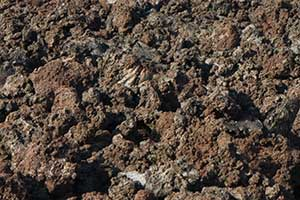 Aa lava rock images galleries with a for Rocks and soil information