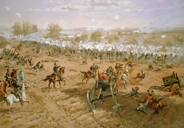 a history of the battle of gettysburg in the american civil war The american battlefield trust is a charitable organization whose primary focus is the preservation of battlefields of the american civil war, the revolutionary war and the war of 1812.