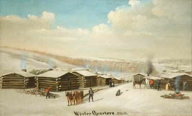winter quarters 1846 1947. Black Bedroom Furniture Sets. Home Design Ideas