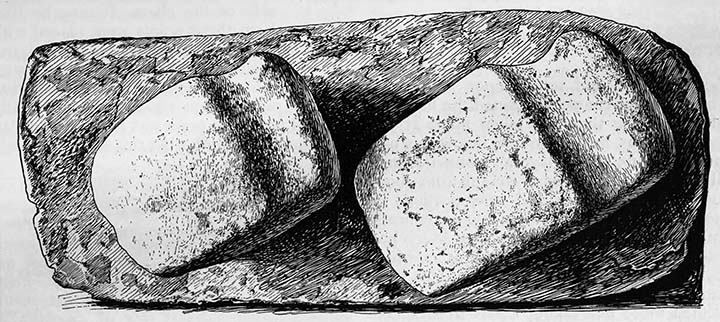 Copperplate and stone axes.